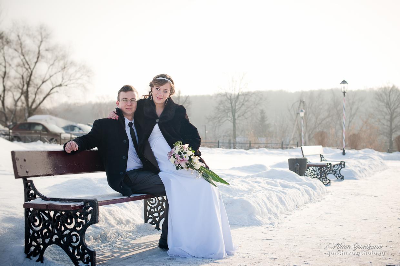 Свадебный фотограф в Туле Свадебные фото в Козловой засеке Аня и Максим