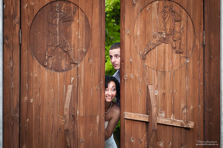 Свадебный фотограф в Туле Свадебная прогулка в Китай городе